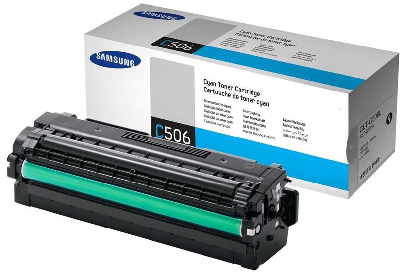 Lazerinio spausdintuvo kasetė Samsung CLT-C506L Cyan