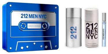 Набор для мужчин Carolina Herrera 212 NYC Men 3pcs Set 260 ml EDT