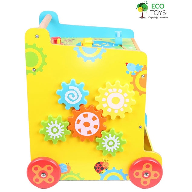 EcoToys Wooden Multi Activity Walker 2118