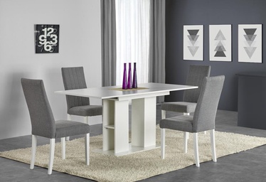 Pusdienu galds Halmar Kornel, balta, 1300 - 1700x800x760mm