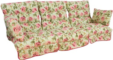 Krēslu spilvens Home4you Roma T0891100, daudzkrāsains, 108 x 56 cm