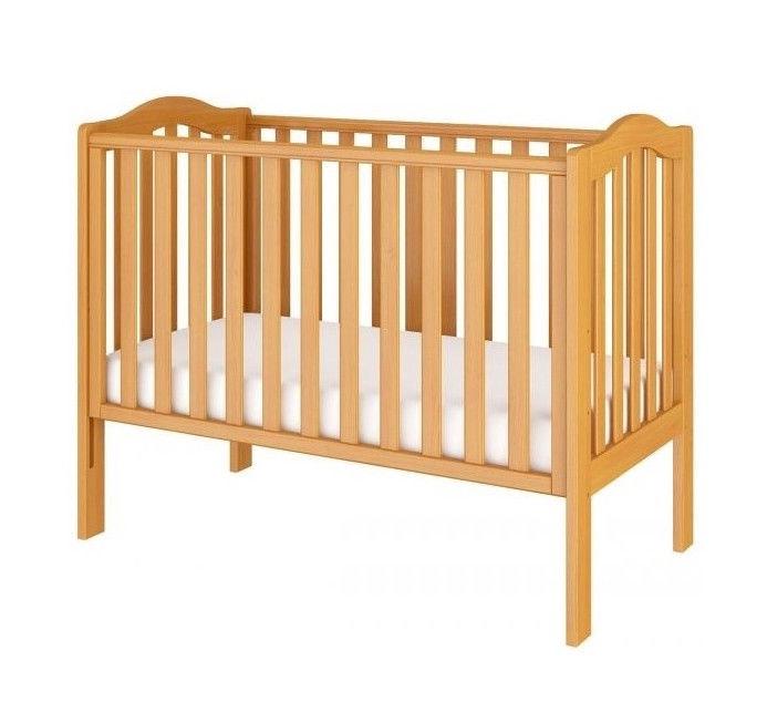 Bērnu gulta Bellamy Wave Pine, 125x68 cm