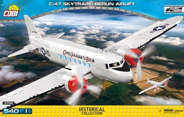 Cobi Blocks Historical Collection C-47 Skytrain Berlin Airlift 5702