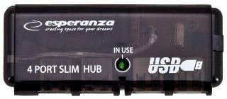 USB-разветвитель (USB-hub) Esperanza Hub 4 Porty EA112 USB 2.0