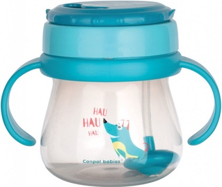 Canpol Babies Cup With Flip Top Straw 250ml