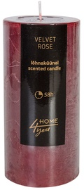 Home4you Candle Velvet Rose D6.8xH14cm