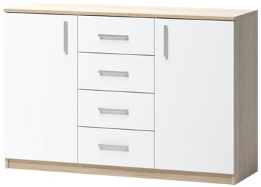 WIPMEB Tatris 03 Chest Of Drawers Sonoma Oak/White