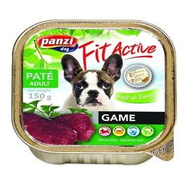 Konservuotas ėdalas šunims Fit Active Soft & Tasty, su jautiena, 150 gr
