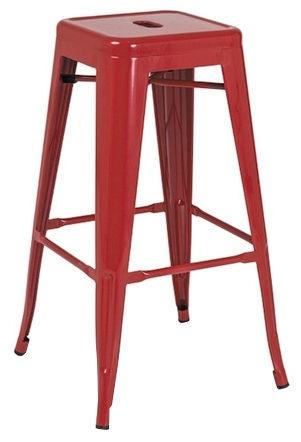 Baro kėdė Signal Meble Hoker Red, 1 vnt.