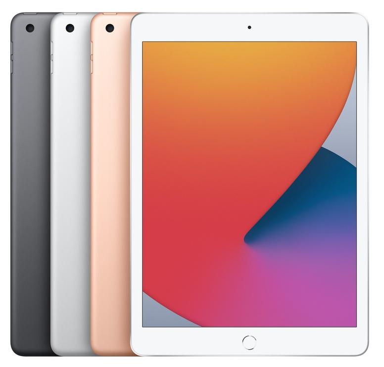 """Planšetinis kompiuteris Apple iPad 8th Gen 10.2"""" Wi-Fi (2020) 128GB Silver"""