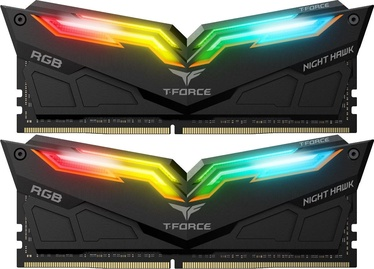 Operatīvā atmiņa (RAM) Team Group T-Force Nighthawk Black RGB TF1D416G3600HC18EDC01 DDR4 16 GB