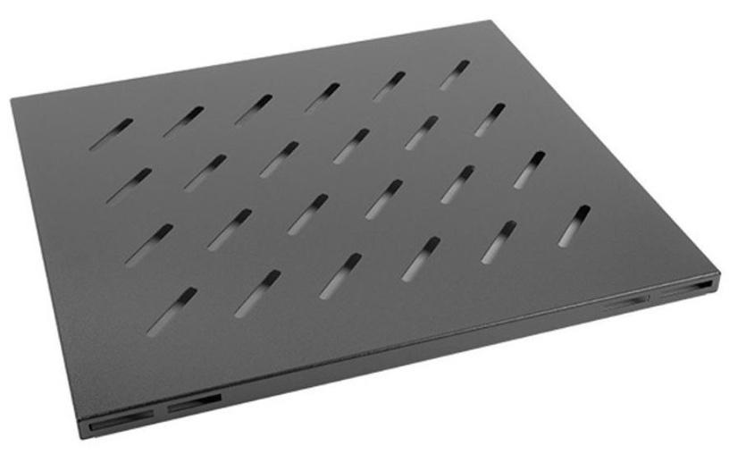 Riiul Lanberg Fixed Shelf 19'' 465x500mm Black