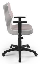 Детский стул Entelo Duo CR08, черный/розовый, 400 мм x 1045 мм