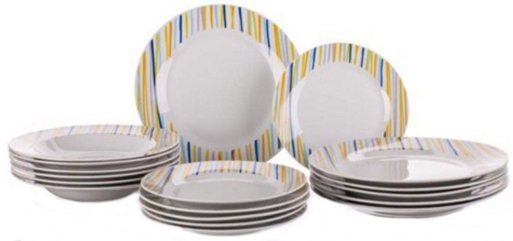 Banquet Optica Dinner Set 18pcs