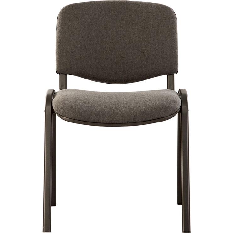 Lankytojų kėdė ISO C38, pilka