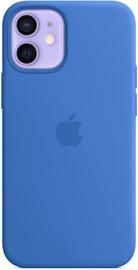 Apple iPhone 12 mini Silicone Case with MagSafe Capri Blue