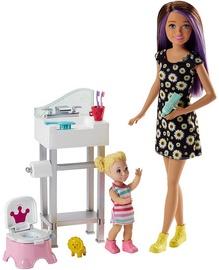 Mattel Barbie Skipper Babysitters Doll & Playset FJB01