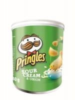Traškučiai Pringles Sour Cream&Onion, 40 g