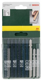 Bosch 2607019461 Jigsaw Blade Set 10pcs