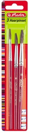 Herlitz Hair Brushes 3-Pieces 8/10/12 08644007