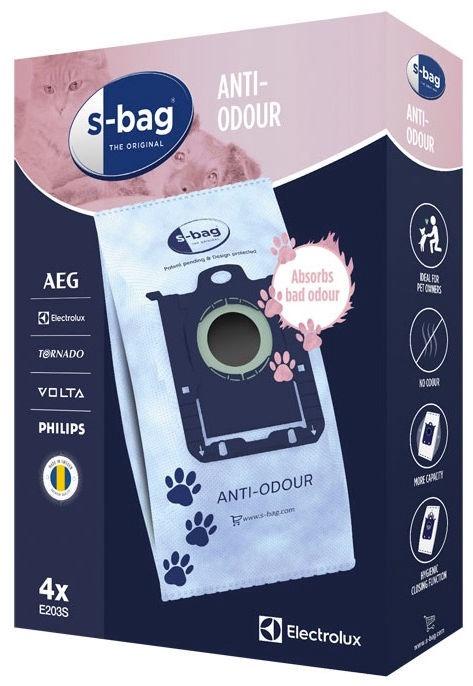 Electrolux S-Bag anti-odour E203S