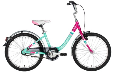 "Vaikiškas dviratis Kellys Cindy 20"" Green Pink 18"