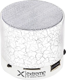 Belaidė kolonėlė Esperanza XP101 Flash Bluetooth Speaker White