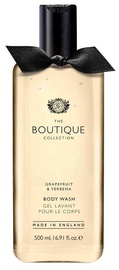 The English Bathing Company Boutique Body Wash 500ml Grapefruit & Verbena