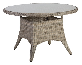 Home4you Pacific Garden Table 120x75cm Beige