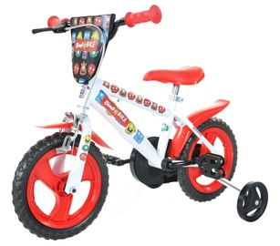 "Bimbo Bike 77327 12"" White Red"