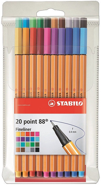 Stabilo Point 88 20pcs