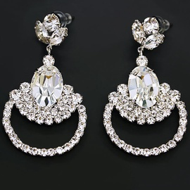 Diamond Sky Earrings With Crystals From Swarowski Adors