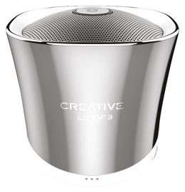 Belaidė kolonėlė Creative WOOF3 Speaker Chrome