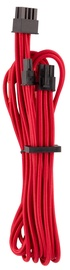 Corsair Premium Individually Sleeved PCIe Cables with Single Connector Type 4 (Gen 4) Red