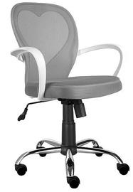 Biroja krēsls Signal Meble Rotary Daisy Grey