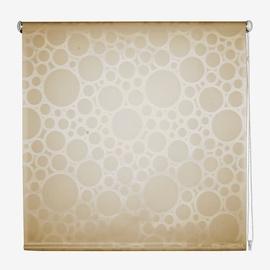 Руло Domoletti Circle 1, кремовый/песочный, 1600 мм x 1700 мм