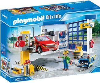Playmobil City Life Car Repair Garage 153pcs 70202