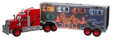 Sunkvežimis - didelis mobilus garažas su automobiliukais 501631193