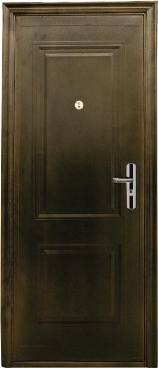 Plieninės vidaus durys JC39, rudos, kairinės, 205x96 cm