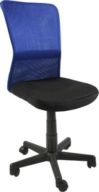 Home4you Office Chair Belice Black/Blue 27734