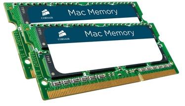 Corsair Mac Memory 8GB DDR3 CL9 SO-DIMM KIT OF 2 CMSA8GX3M2A1333C9