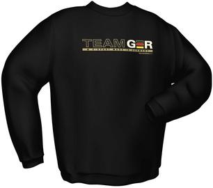 Svīteris GamersWear Team GER Sweater Black XXL