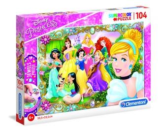 Dėlionė Clementoni Princess Jewels Super Color 20147, 104 dalių