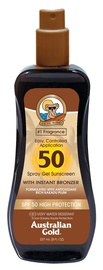 Australian Gold Spray Gel Sunscreen With Instant Bronzer SPF50 237ml
