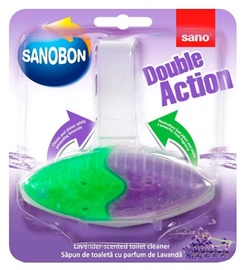 Sano Sanobon Double Action Lavender Toilet Rim Block 55g