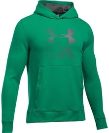 Under Armour Hoodie Threadborne Graphic 1299143-933 Green S
