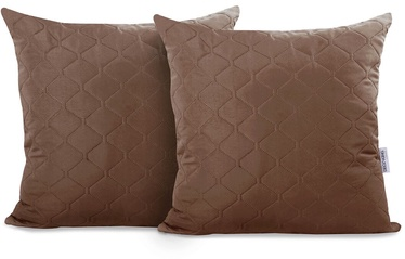 DecoKing Axel Pillowcase Brown 40x40 2pcs