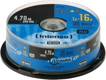 Intenso DVD+R 16x 4.7GB 25.pcs Cake Box 4111654