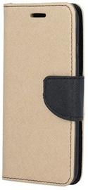 TakeMe Fancy Diary Bookstand Case Samsung Galaxy J6 Plus J610 Gold/Black