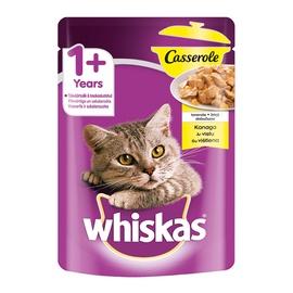 Konservuotas ėdalas katėms Whiskas Casserole, su vištiena, 85 gr